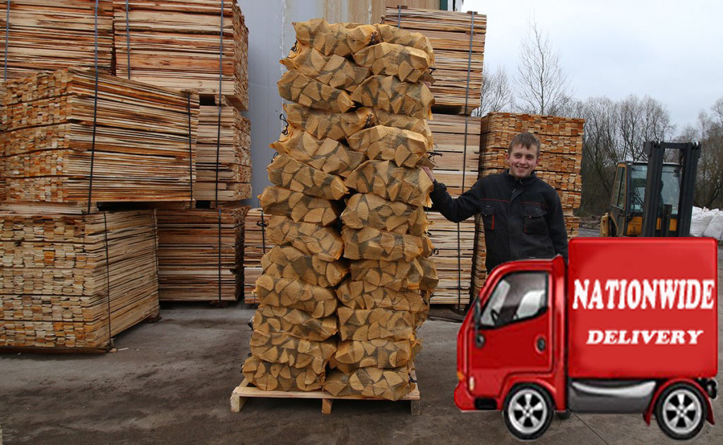 Large packages of Fire Wood for Sale